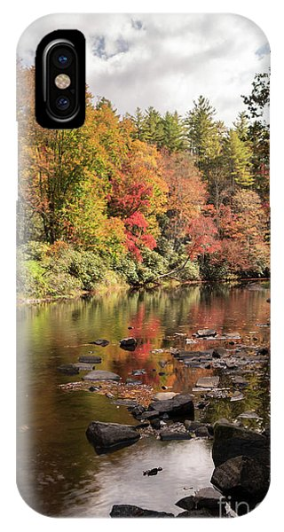Appalachian Mountains iPhone Case - Linville River II by DiFigiano Photography
