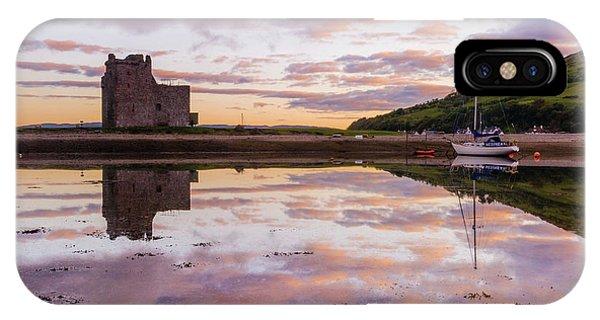 Lochranza Castle, Arran Phone Case by David Ross