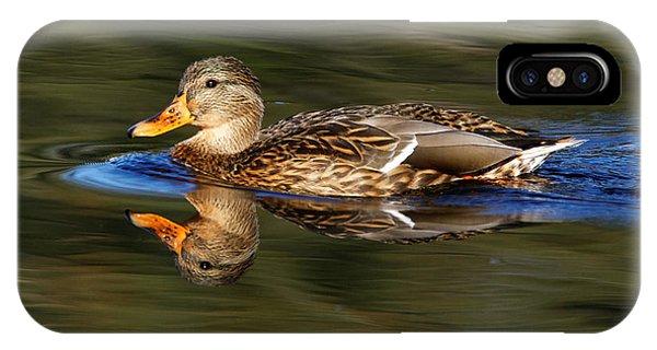IPhone Case featuring the photograph Mallard Duck by Sue Harper