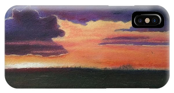 Marsh Sunset IPhone Case