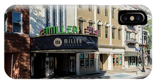 Miller Theater Augusta Ga IPhone Case