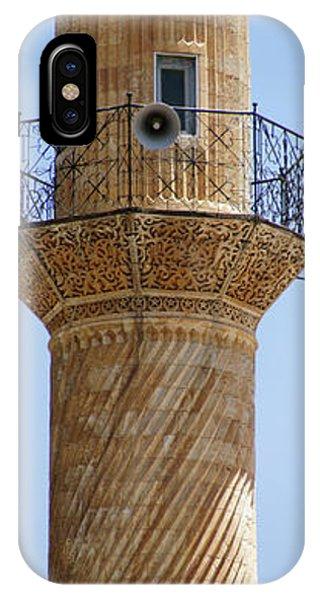 Minaret Of Ulu Cami Mosque IPhone Case