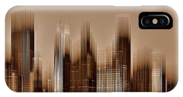 IPhone Case featuring the digital art Minneapolis 2 by David Manlove