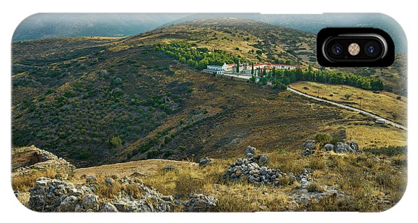 Monastery Agion Anargiron Above Argos IPhone Case