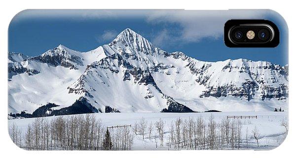 Mt Wilson IPhone Case