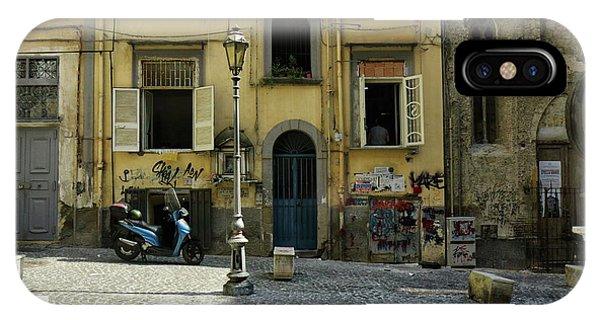 Naples Italy IPhone Case