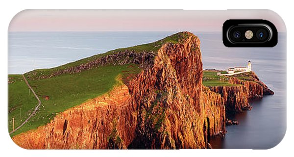 IPhone Case featuring the photograph Neist Point Sunset - Isle Of Skye by Grant Glendinning
