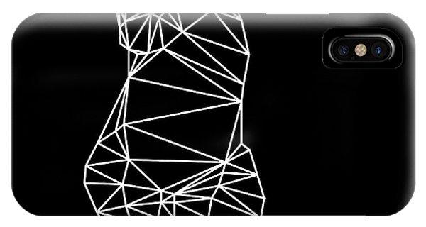Lynx iPhone Case - Night Cat by Naxart Studio
