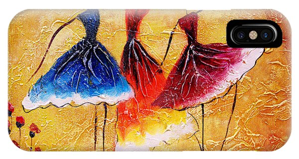 Small iPhone Case - Oil Painting - Spanish Dance by Cyc