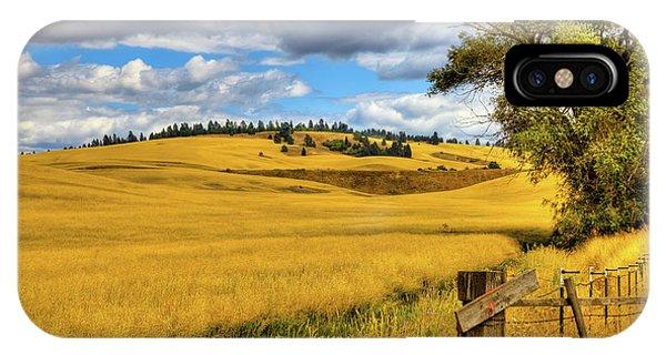 iPhone Case - Palouse Farmland by David Patterson