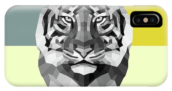 Lynx iPhone Case - Party Tiger by Naxart Studio