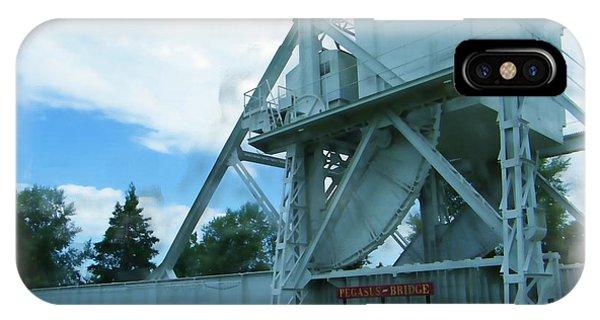 Pegasus Bridge IPhone Case