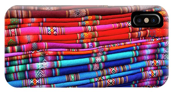 Piles Of Colorful Cloth For Sale Phone Case by David Wall