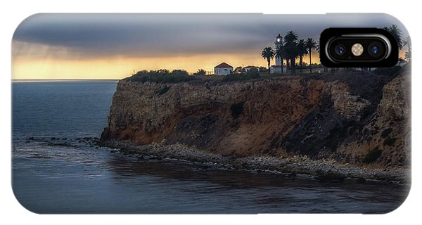 Point Vicente Lighthouse At Sunset IPhone Case