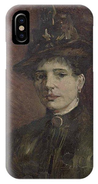 Van Gogh Museum iPhone Case - Portrait Of A Woman by Vincent Van Gogh