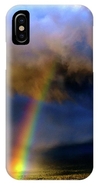 Rainbow During Sunset IPhone Case