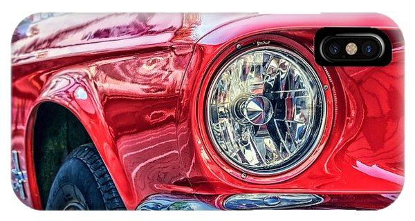 Red Vintage Car IPhone Case