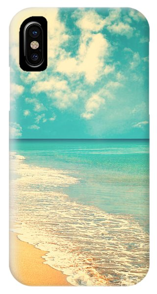Retro Beach Phone Case by Andrekart Photography
