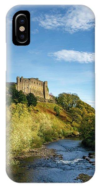 Castle iPhone X Case - Richmond Castle by Smart Aviation