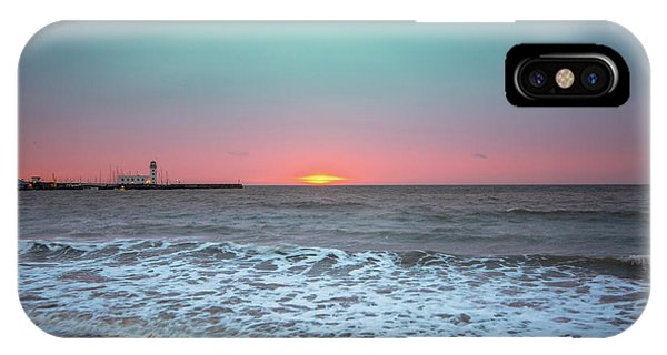 Fishing Boat iPhone Case - Scarborough Dawn by Smart Aviation