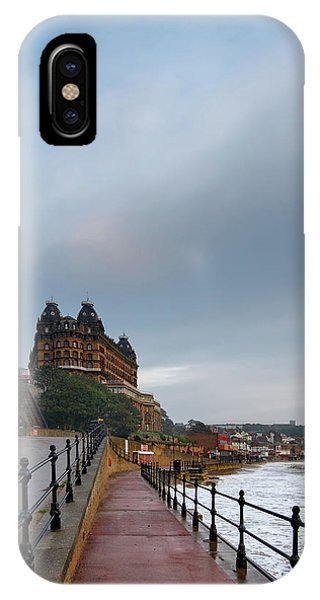 Fishing Boat iPhone Case - Scarborough South Bay by Smart Aviation
