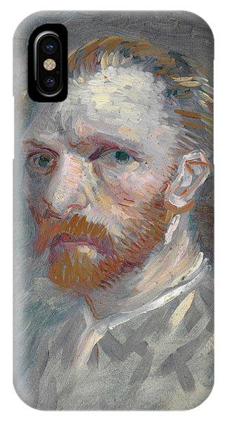 Van Gogh Museum iPhone Case - Self-portrait - 1 by Vincent van Gogh