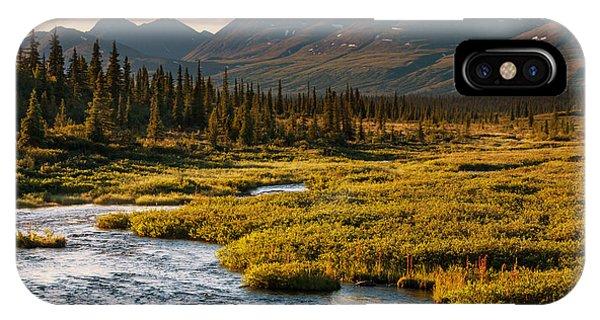 Serenity iPhone Case - Serenity Lake In Tundra On Alaska by Galyna Andrushko