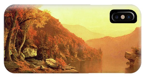 Jervis iPhone Case - Shawanagunk Mountains by Jervis McEntee