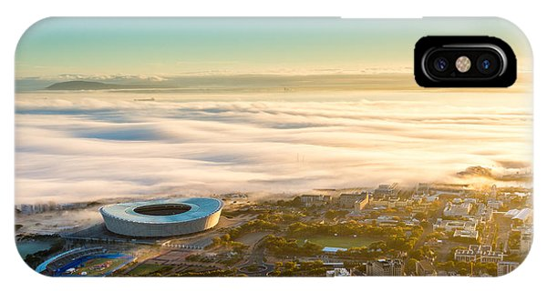 Mist iPhone Case - Shortly After Sunrise In Cape Town, The by Richard Brew