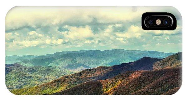 Smoky Mountain Memory IPhone Case