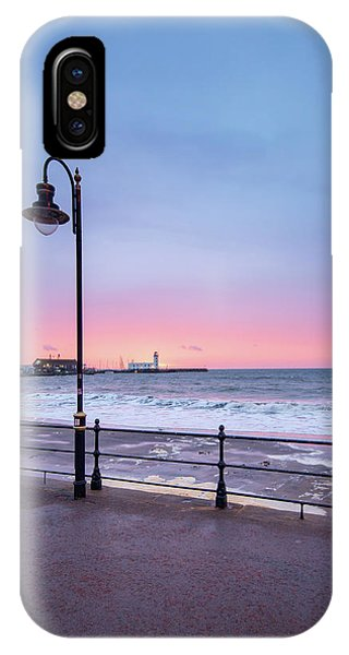 Fishing Boat iPhone Case - South Bay Scarborough by Smart Aviation