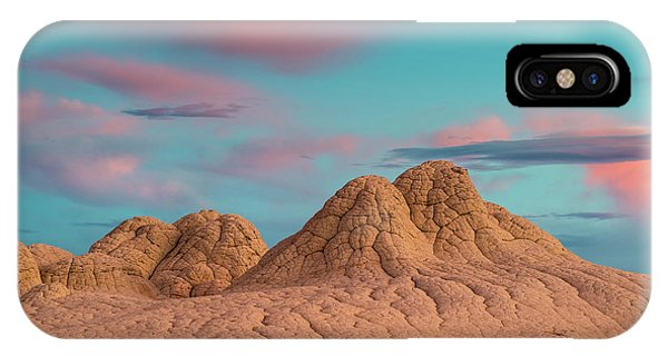 Stunning Clouds At Sunrise, Vermillion Phone Case by Howie Garber