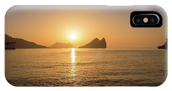Sunrise On A Beach In Aguilas, Murcia IPhone Case