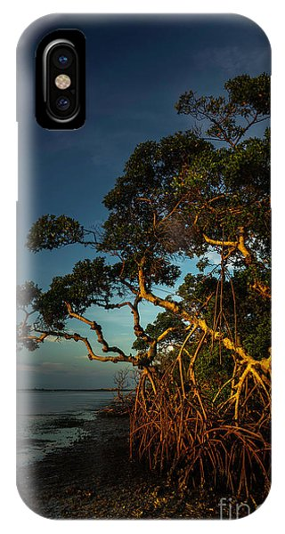 Oceanfront iPhone Case - Sunset Light by Marvin Spates