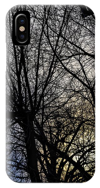 Sunset Sky And Trees IPhone Case