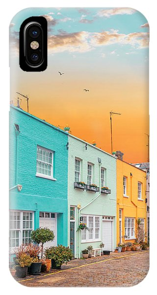 Sunset Street IPhone Case