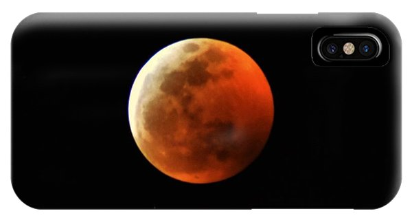 Super Blood Wolf Moon IPhone Case