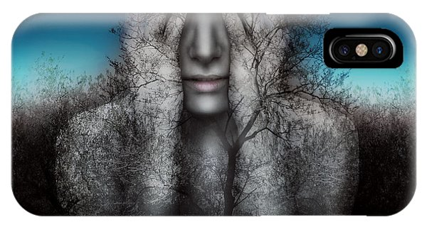 Strength iPhone Case - Surreal And Artistic Image Of A Girl by Valentina Photos