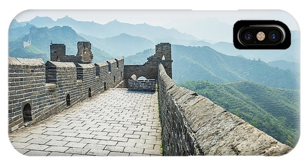 Culture iPhone Case - The Great Wall Of China by Aphotostory