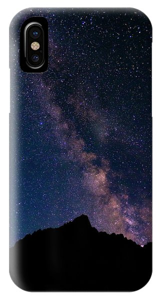 Astro iPhone Case - The Milky Way Over The Palisades, John by Russ Bishop