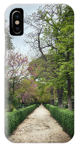 The Paths Of The Retiro Park IPhone Case