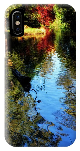 IPhone Case featuring the photograph The Pond At Inglewood House by Jeremy Lavender Photography
