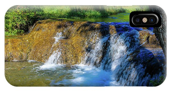 The Springs In It's Summer Green, Big Hill Springs Provincial Re IPhone Case