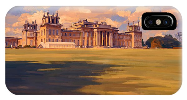 The White Party Tent Along Blenheim Palace IPhone Case