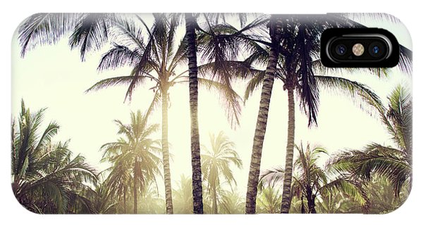 Ticla Palms IPhone Case