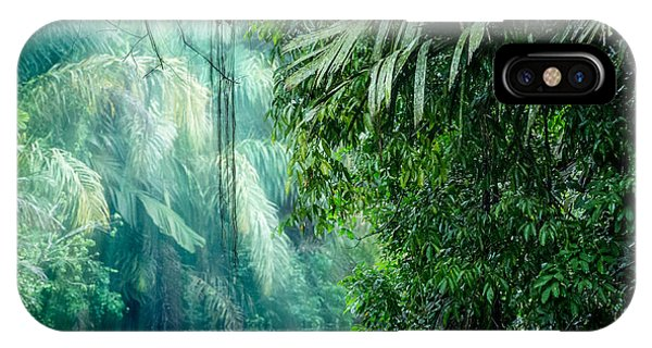 Lush iPhone Case - Tortuguero National Park, Rainforest by Ronnybas Frimages