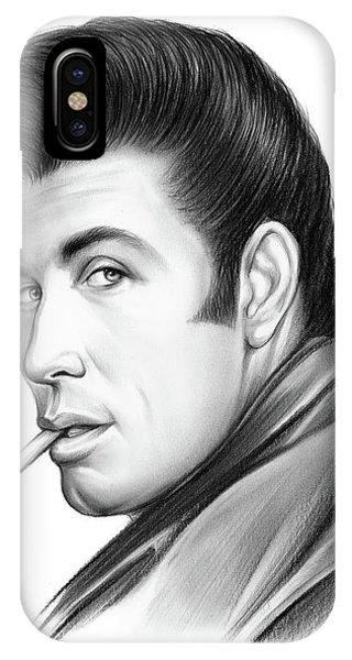 Graphite iPhone Case - Travolta by Greg Joens