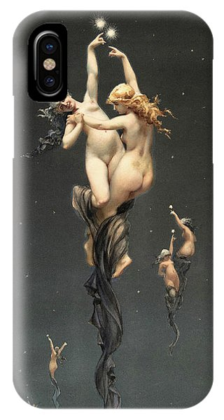 Voodoo iPhone Case - Twin Stars by Luis Ricardo Falero