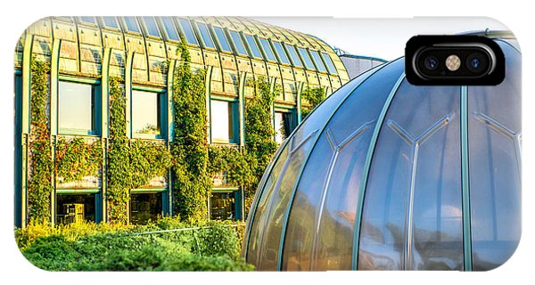 Dome iPhone Case - University Of Warsaw Library With by Rosshelen