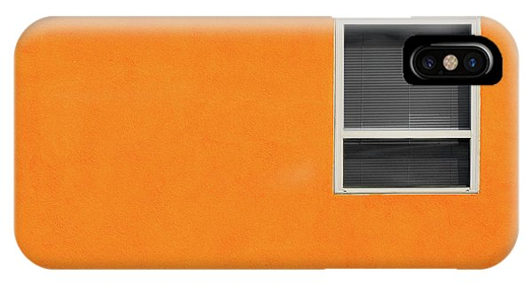 Very Orange Wall IPhone Case